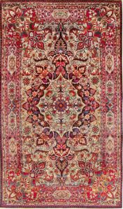 فرش آنتیک ابریشم اصفهان