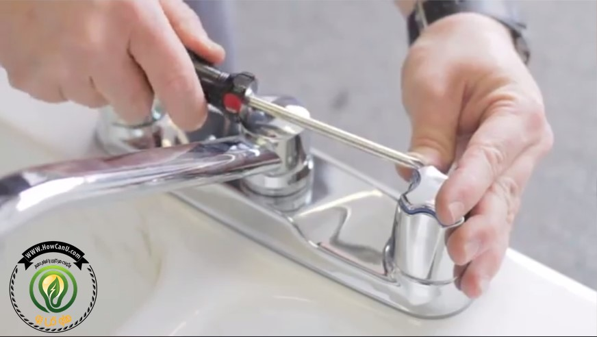 تعمیر شیر آب که چکه می کند (آموزش تصویری شیر های اهرمی و مخلوط)