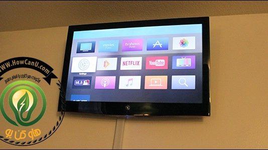 نصب تلویزیون بر روی دیوار