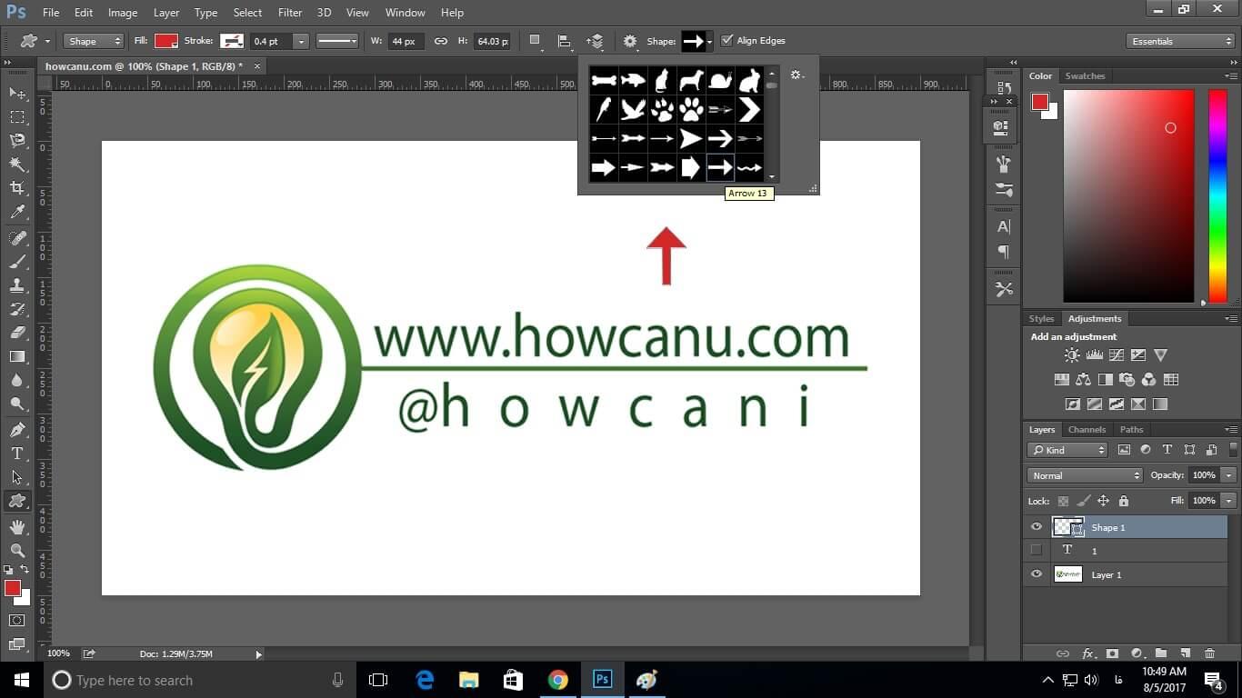 آموزش اصول اولیه فتوشاپ www.howcanu.com