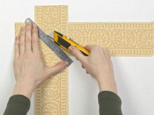 152 300x225 - آموزش جامع و قدم به قدم نصب کاغذ دیواری