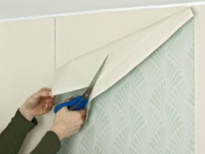 22 300x225 - آموزش جامع و قدم به قدم نصب کاغذ دیواری