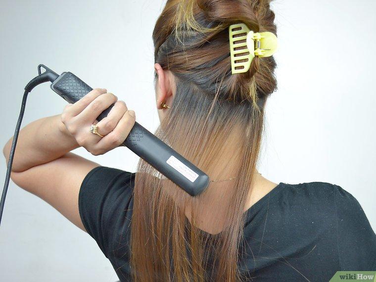 چگونه از اتو مو استفاده کنیم؟ _ هاو کن یو